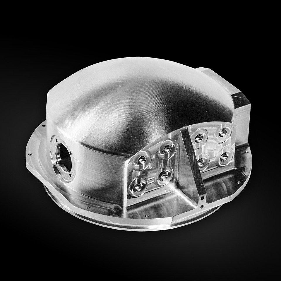 Деталь корпуса подводного исследовательского аппарата